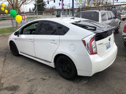 2012 Toyota Prius for sale at ALHAMADANI AUTO SALES in Spanaway WA