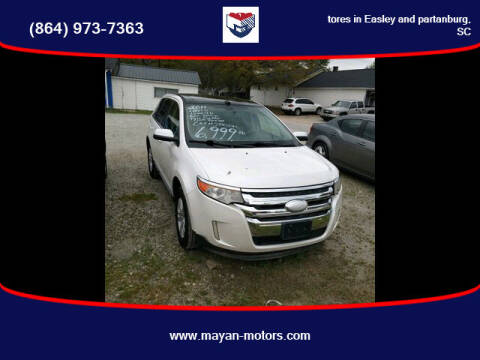 2011 Ford Edge for sale at Mayan Motors Easley in Easley SC
