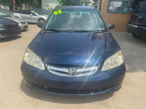 2005 Honda Civic for sale at Nation Auto Wholesale in Cleveland OH