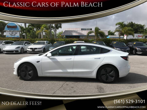 2018 Tesla Model 3 for sale at Classic Cars of Palm Beach in Jupiter FL