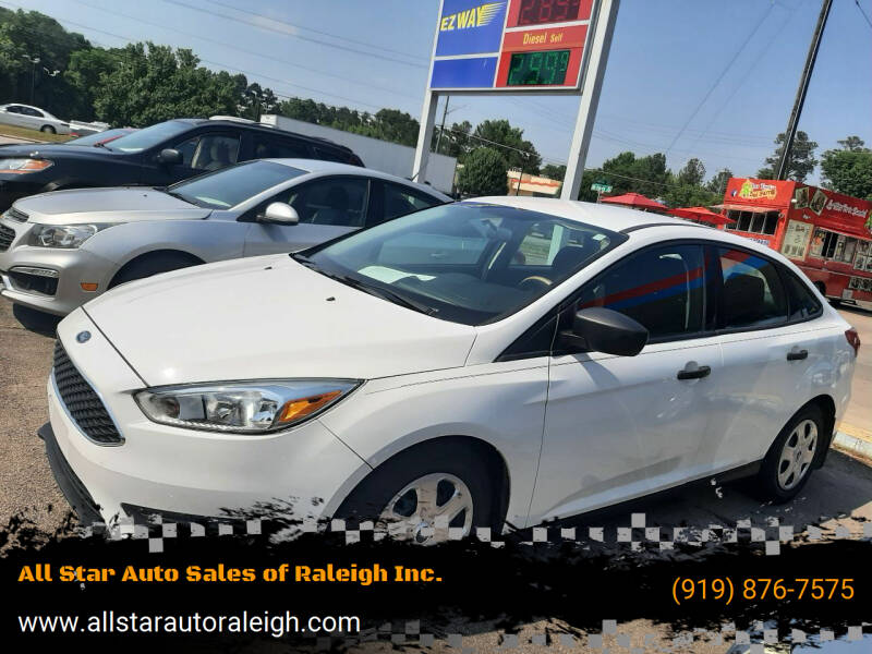 2017 Ford Focus for sale at All Star Auto Sales of Raleigh Inc. in Raleigh NC