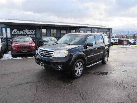 2012 Honda Pilot for sale at Central Auto in South Salt Lake UT