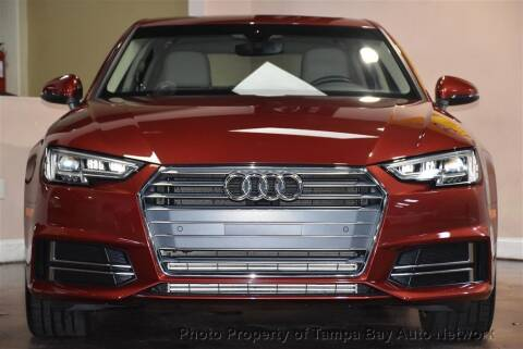 2018 Audi A4 for sale at Tampa Bay AutoNetwork in Tampa FL