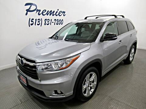 2015 Toyota Highlander Hybrid for sale at Premier Automotive Group in Milford OH