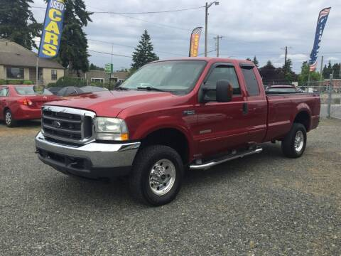 2003 Ford F-250 Super Duty for sale at A & V AUTO SALES LLC in Marysville WA