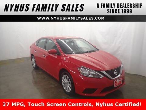 2019 Nissan Sentra for sale at Nyhus Family Sales in Perham MN