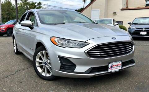 2019 Ford Fusion Hybrid for sale at PAYLESS CAR SALES of South Amboy in South Amboy NJ