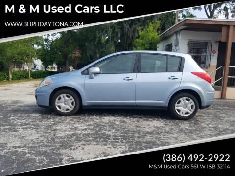 2011 Nissan Versa for sale at M & M Used Cars LLC in Daytona Beach FL