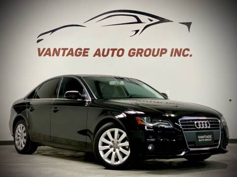 2011 Audi A4 for sale at Vantage Auto Group Inc in Fresno CA