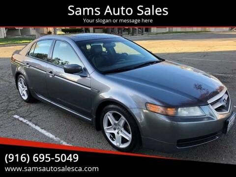 2006 Acura TL for sale at Sams Auto Sales in North Highlands CA