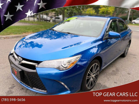 2016 Toyota Camry for sale at Top Gear Cars LLC in Lynn MA