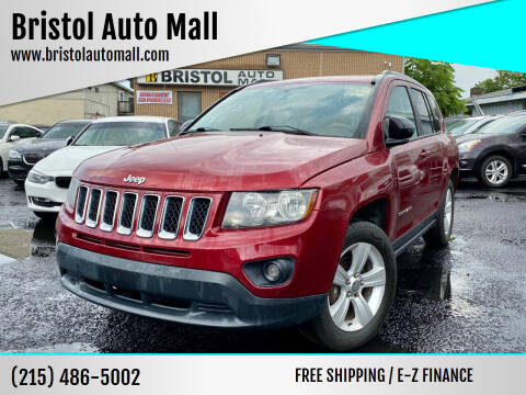 2012 Jeep Compass for sale at Bristol Auto Mall in Levittown PA