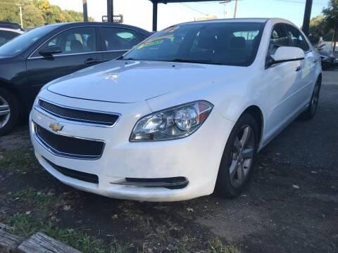 2012 Chevrolet Malibu for sale at Coliseum Auto Sales & SVC in Charlotte NC