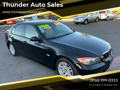2006 BMW 3 Series for sale at Thunder Auto Sales in Sacramento CA
