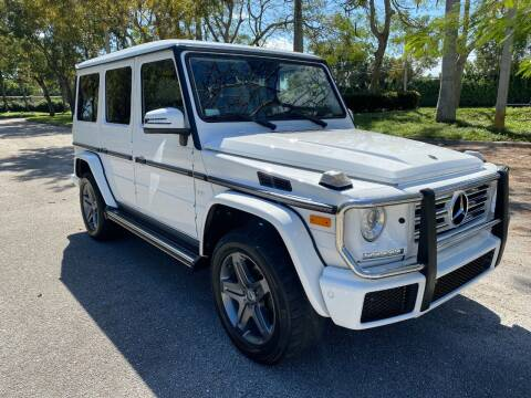 2018 Mercedes-Benz G-Class for sale at DELRAY AUTO MALL in Delray Beach FL