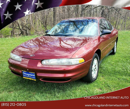2002 Oldsmobile Intrigue for sale at Chicagoland Internet Auto - 410 N Vine St New Lenox IL, 60451 in New Lenox IL