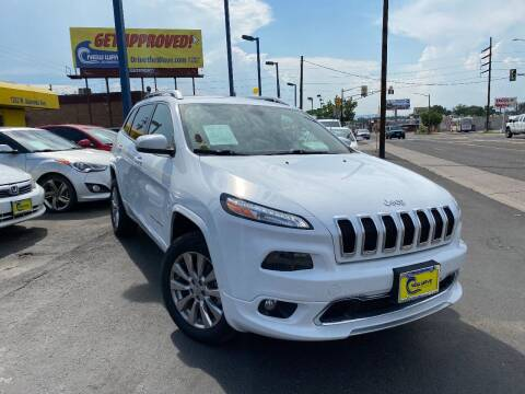 2016 Jeep Cherokee for sale at New Wave Auto Brokers & Sales in Denver CO