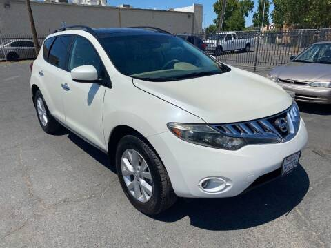 2009 Nissan Murano for sale at 101 Auto Sales in Sacramento CA