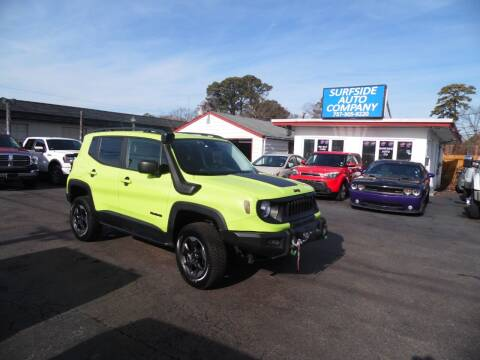 2017 Jeep Renegade for sale at Surfside Auto Company in Norfolk VA