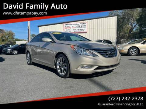 2011 Hyundai Sonata for sale at David Family Auto in New Port Richey FL