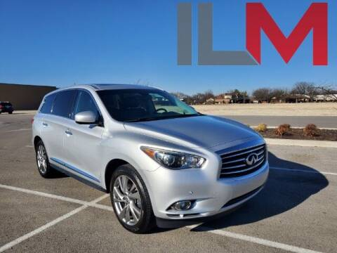 2013 Infiniti JX35 for sale at INDY LUXURY MOTORSPORTS in Fishers IN