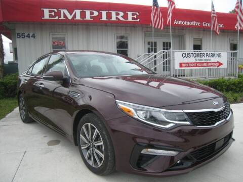 2020 Kia Optima for sale at Empire Automotive Group Inc. in Orlando FL