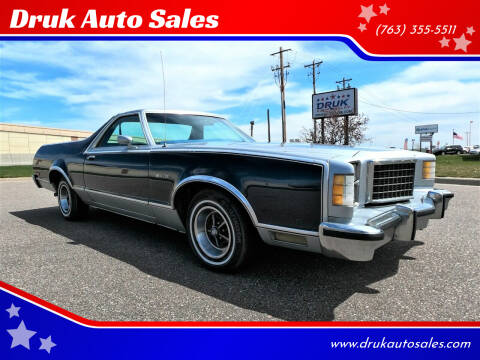 1979 Ford Ranchero for sale at Druk Auto Sales in Ramsey MN