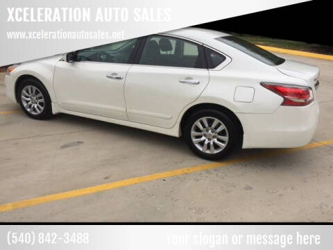 2015 Nissan Altima for sale at XCELERATION AUTO SALES in Chester VA