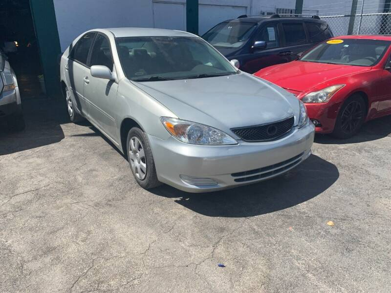 2004 Toyota Camry for sale at Dream Cars 4 U in Hollywood FL