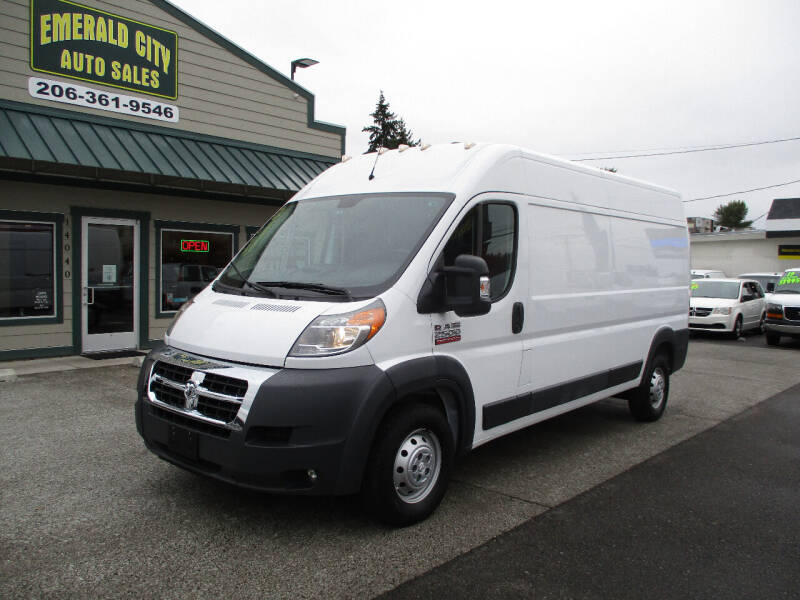 2016 RAM ProMaster Cargo for sale in Seattle, WA