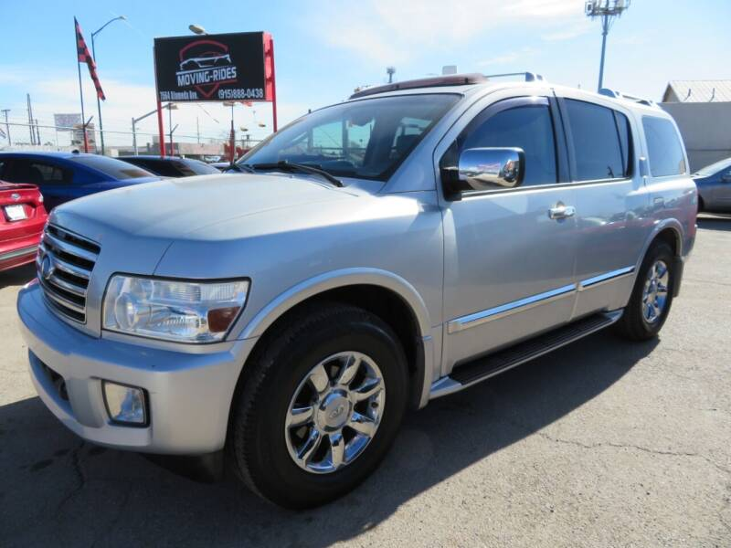 2005 Infiniti QX56 for sale at Moving Rides in El Paso TX