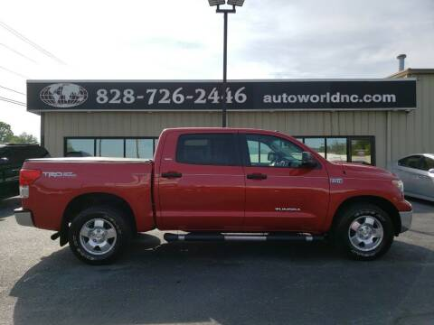 2012 Toyota Tundra for sale at AutoWorld of Lenoir in Lenoir NC