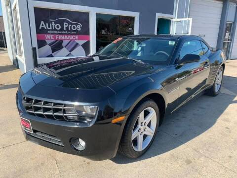 2012 Chevrolet Camaro for sale at AutoPros - Waterloo in Waterloo IA