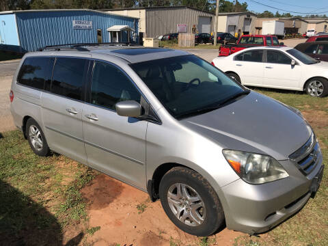 2006 Honda Odyssey for sale at Bay City Auto's in Mobile AL