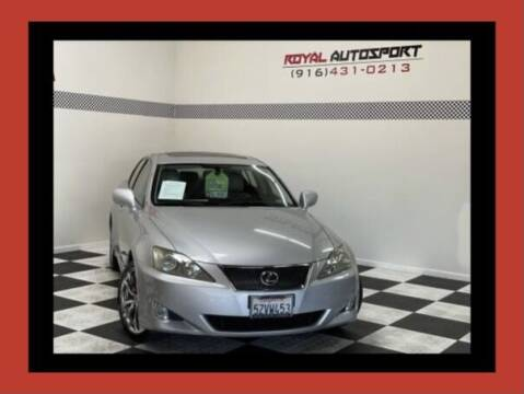 2007 Lexus IS 350 for sale at Royal AutoSport in Sacramento CA
