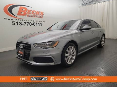 2013 Audi A6 for sale at Becks Auto Group in Mason OH