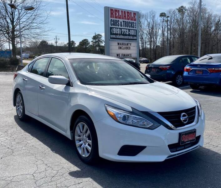 2017 Nissan Altima for sale at Reliable Cars & Trucks LLC in Raleigh NC
