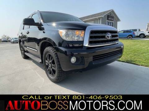 2008 Toyota Sequoia for sale at Auto Boss in Woods Cross UT