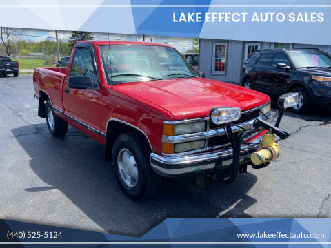 1998 Chevrolet C/K 1500 Series for sale at Lake Effect Auto Sales in Chardon OH