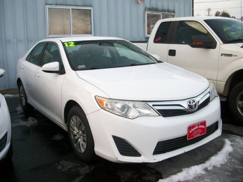 2012 Toyota Camry for sale at Lloyds Auto Sales & SVC in Sanford ME