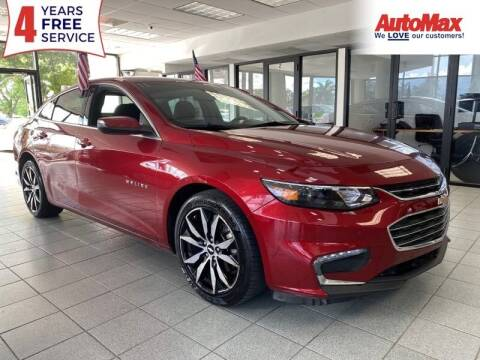2018 Chevrolet Malibu for sale at Auto Max - Rentals in Hollywood FL