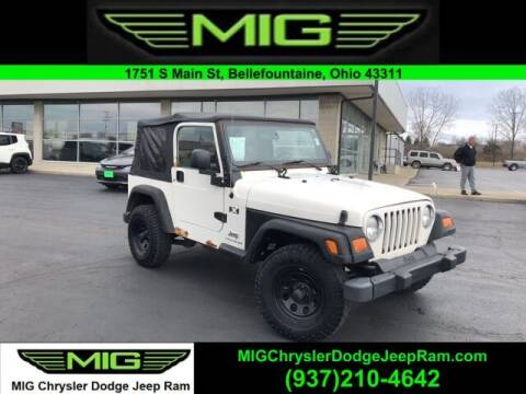 2005 Jeep Wrangler for sale at MIG Chrysler Dodge Jeep Ram in Bellefontaine OH