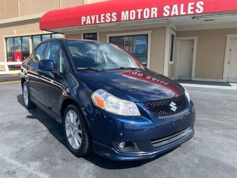 2009 Suzuki SX4 for sale at Payless Motor Sales LLC in Burlington NC