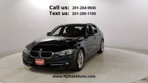 2016 BMW 3 Series for sale at NJ State Auto Used Cars in Jersey City NJ