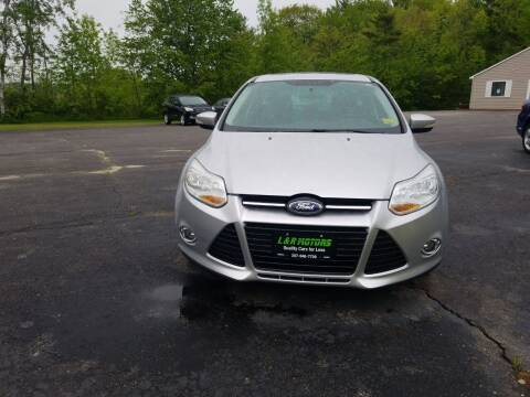 2012 Ford Focus for sale at L & R Motors in Greene ME