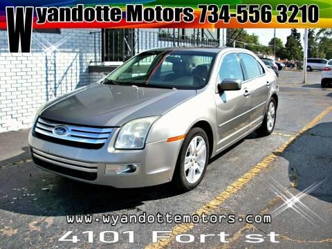 2008 Ford Fusion for sale at Wyandotte Motors in Wyandotte MI