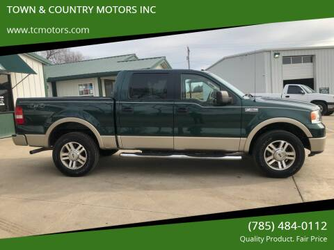 2008 Ford F-150 for sale at Town & Country Motors Inc. in Meriden KS