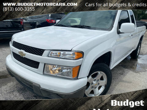 2010 Chevrolet Colorado for sale at Budget Motorcars in Tampa FL