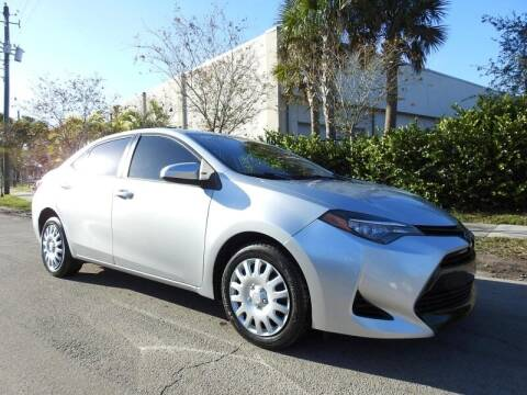 2017 Toyota Corolla for sale at SUPER DEAL MOTORS in Hollywood FL
