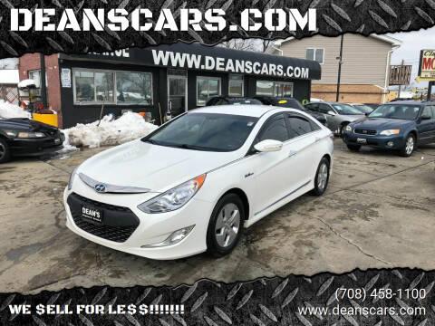 2012 Hyundai Sonata Hybrid for sale at DEANSCARS.COM in Bridgeview IL